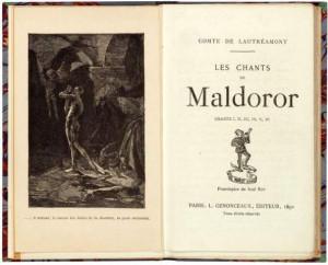 de Comte de Lautréamont, il publie le premier des Chants de ...