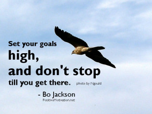 Goal quotes - motivational setting goal Quote of the day