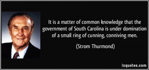 It is a matter of common knowledge that the government of South ...