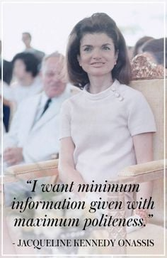 Best Jacqueline Kennedy Onassis Quotes- Best Jackie O Quotes More