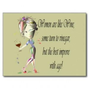 Wine Quotes Postcards