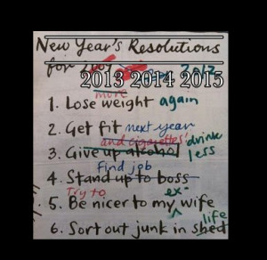 Funniest predictions ever-great poster new year's resoultions