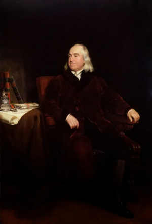 ... Bentham in later life, by Henry William Pickersgill (1829), NPG 413