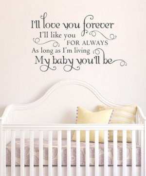 look at this Belvedere Designs Black 'Love You Forever' Wall Quote ...