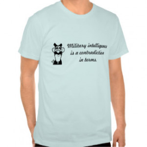 Groucho Marx Military Quote T-Shirt