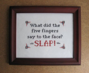 Dave Chappelle's Show Quote Cross Stitch Pattern by esilverdesign, $6 ...