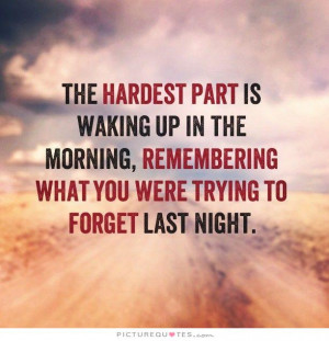 Quotes About Waking Up in the Morning