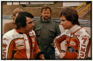team mate to Barry Sheene and Sheene saw nothing but problems ahead