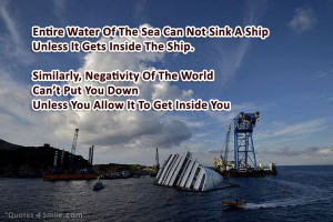 Negativity Of The World