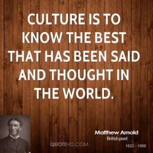 Matthew Arnold Quotes