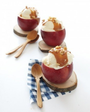 Halloween Party Ideas | Halloween Food Recipes | Caramel apple sundaes ...