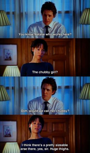 the chubby girl?