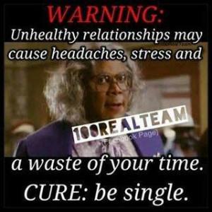 Cure... be single