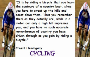 Cycling Quotes More
