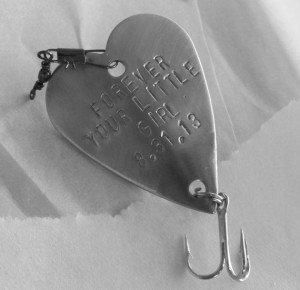 Personalized Forever Your Little Girl by CandTCustomLures on Etsy, $17 ...