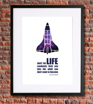 Chris Hadfield Quote| Instant Download Science Poster | Science Quote ...