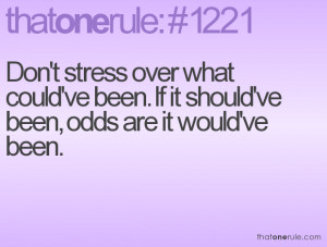 Family Stress Quotes Don't stress over what