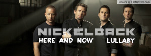 Nickelback-Lullaby Profile Facebook Covers