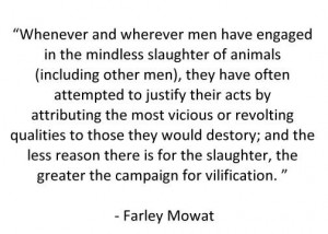 Farley Mowat quote