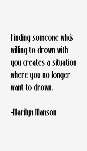 Marilyn Manson Quotes & Sayings