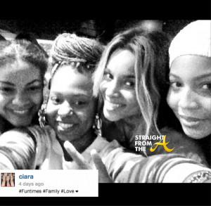 Ciara And Futures Baby Mamas 1