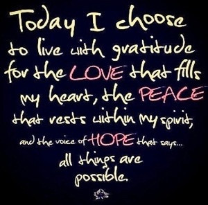 Today I choose... Quotes