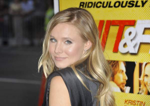 Kristen Bell Hit and Run premiere Los Angeles August 2012