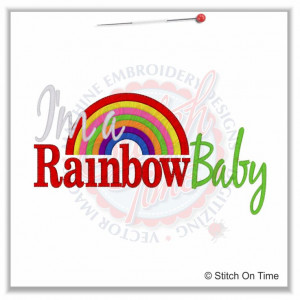 Rainbow Baby Saying