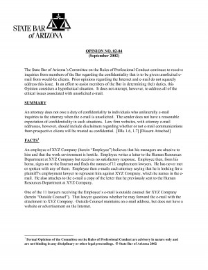 Attorney Letter Of Explanation Client Situation picture