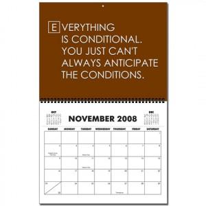House MD Calendar November
