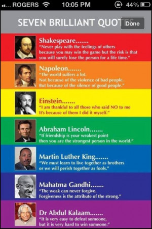Famous quotes that you probably never knew or thought about