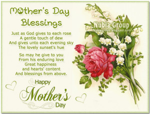 Mothers Day Blessing Quotes