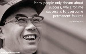 Soichiro Honda Quotes