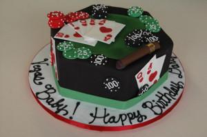 Viva Las Vegas Cake Toppers