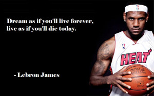Lebron Quotes Image Design