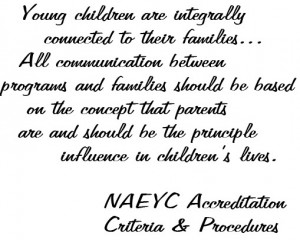Young Children Are Integrally Connected To Their Families All ...
