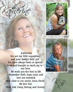 high school senior yearbook ad ideas   Labels: my life , portrait More