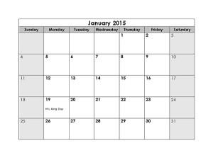 printable month calendar 2015