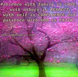 ... Self Is Confidence And Patience With God Is Faith - Patience Quote