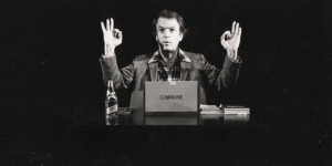 Spalding Gray in And Everything Is Going Fine/Photo © 2010 IFC Films