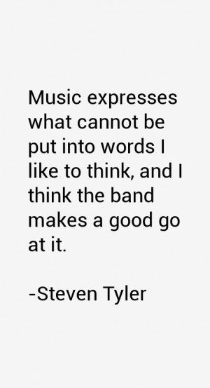 Steven Tyler Quotes & Sayings