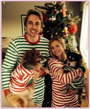 Not everything's on Instagram! Kristen Bell and Dax Shepard posted ...