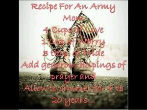 military mom sayings | Army mom