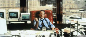 Michael Douglas as Gordon Gekko in 'Wall Street' (1987)