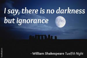 Shakespeare quotes Twelfth Night