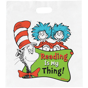 Dr. Seuss™ Reading Is Our Thing Economy Book Bags