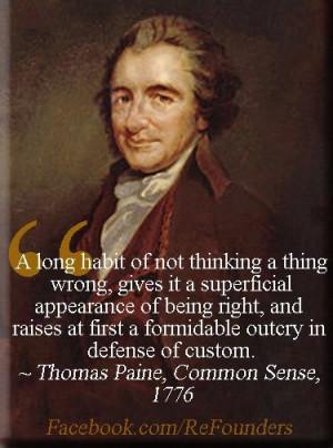 Thomas Paine, Common Sense