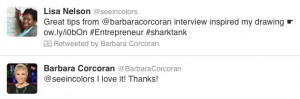 ... Barbara Corcoran recently and I created sketchnotes from the session