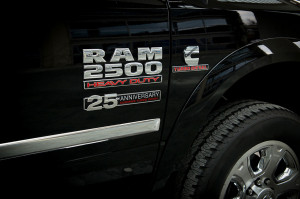 2014 Ram 1500 Cummins 25 Anniversary Door Badges