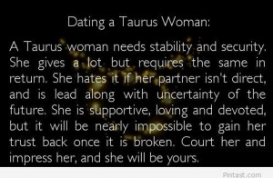 Quotes About Taurus Woman